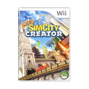 Jogo SimCity Creator - Wii