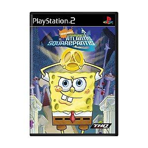 Jogo SpongeBob's Atlantis SquarePantis - PS2