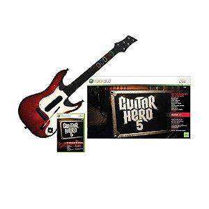 Jogo Guitar Hero 5 (Bundle) - Xbox 360