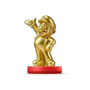 Nintendo Amiibo: Mario Gold - Super Mario - Wii U, New Nintendo 3DS e Switch