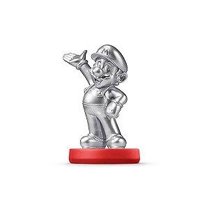 Nintendo Amiibo: Mario Silver - Super Mario - Wii U, New Nintendo 3DS e Switch