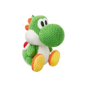 Nintendo Amiibo: Yoshi Green - Yoshi's Woolly Series - Wii U, New Nintendo 3DS e Switch