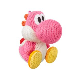 Nintendo Amiibo: Yoshi Pink - Yoshi's Woolly Series - Wii U, New Nintendo 3DS e Switch
