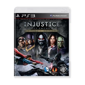 Jogo Injustice: Gods Among Us (Ultimate Edition) - PS3 (Lacrado)