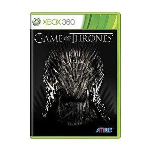 Jogo Game of Thrones - Xbox 360 (Lacrado)
