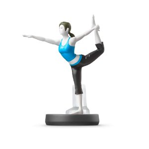 Nintendo Amiibo: Wii Fit Trainer - Super Smash Bros - Wii U, New Nintendo 3DS e Switch
