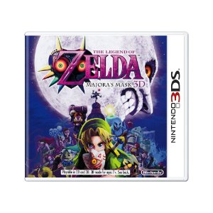 Jogo The Legend of Zelda: Majora's Mask 3D - 3DS (Lacrado)
