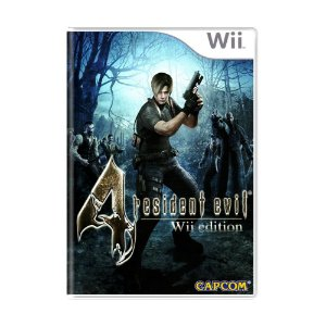 Jogo Resident Evil 4 - Wii (Lacrado)