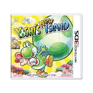 Jogo Yoshi's New Island - 3DS (Lacrado)
