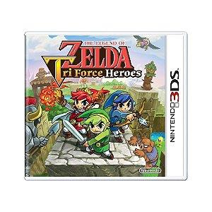 Jogo The Legend of Zelda: Triforce Heroes - 3DS (Lacrado)