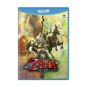 Jogo The Legend of Zelda: Twilight Princess HD - Wii U (Lacrado)