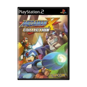 Jogo Mega Man X: Collection - PS2 (Lacrado)
