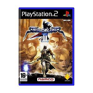 Jogo Soulcalibur III - PS2 (Europeu)