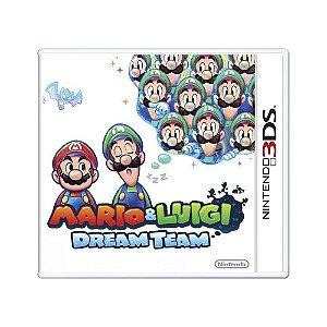 Jogo Mario & Luigi: Dream Team - 3DS (Lacrado)