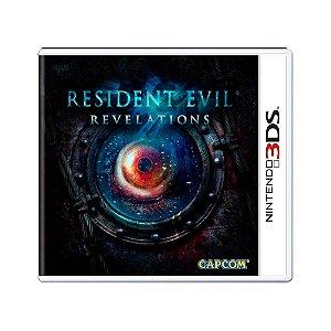 Jogo Resident Evil: Revelations - 3DS (Lacrado)