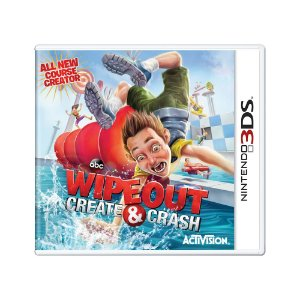Jogo Wipeout: Create & Crash - 3DS