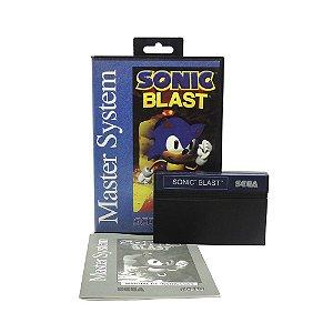 Jogo Sonic Blast - Master System