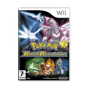 Jogo Pokémon Battle Revolution - Wii (Europeu)