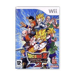 Jogo Dragon Ball Z: Budokai Tenkaichi 2 - Wii (Europeu)