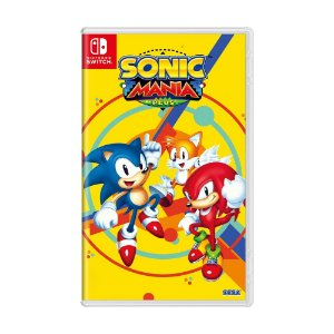 Jogo Sonic Mania Plus - Switch