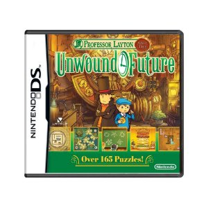 Jogo Professor Layton and the Unwound Future - DS