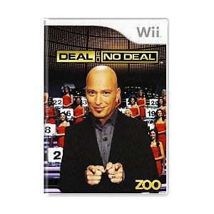 Jogo Deal or No Deal - Wii
