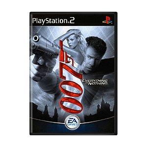 Jogo James Bond 007: Everything or Nothing - PS2