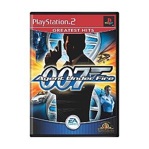 Jogo 007: Agent Under Fire - PS2