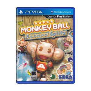 Jogo Super Monkey Ball: Banana Splitz - PS Vita