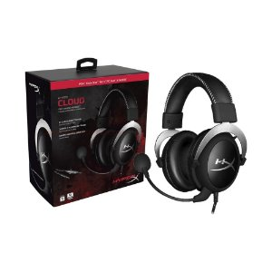 Headset Gamer HyperX Cloud com fio - PC, Mac, PS4 e Xbox One