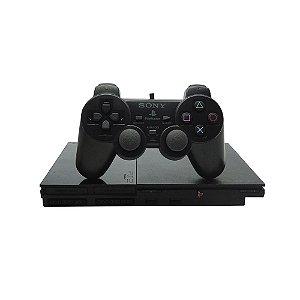 Console PlayStation 2 Preto - Sony (Japonês)