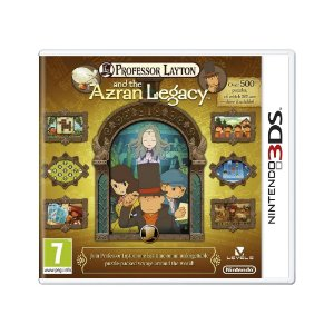 Jogo Professor Layton and the Azran Legacy - 3DS (Europeu)