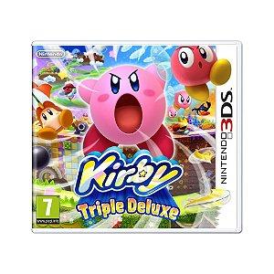 Jogo Kirby: Triple Deluxe - 3DS (Europeu)