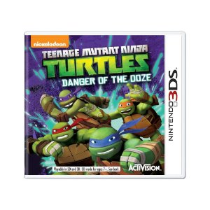 Jogo Teenage Mutant Ninja Turtles: Danger of the Ooze - 3DS