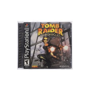 Jogo Tomb Raider Chronicles - PS1
