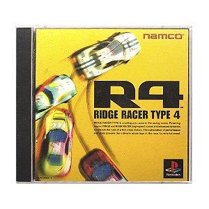 Jogo R4: Ridge Racer Type 4 - PS1 (Japonês)