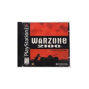 Jogo Warzone 2100 - PS1