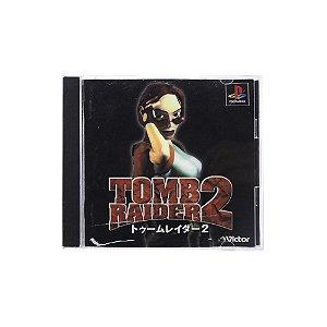 Jogo Tomb Raider II - PS1 (Japonês)