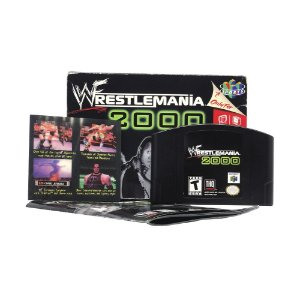 Jogo WWF WrestleMania 2000 - N64