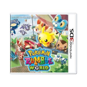 Jogo Pokémon Rumble World - 3DS