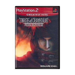 Jogo Dirge of Cerberus: Final Fantasy VII - PS2