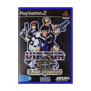 Jogo Virtua Cop (Elite Edition) - PS2 (Europeu)