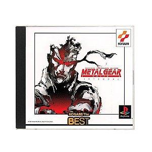 Jogo Metal Gear Solid Integral - PS1 (Japonês)