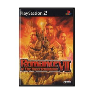 Jogo Romance of the Three Kingdoms VII - PS2