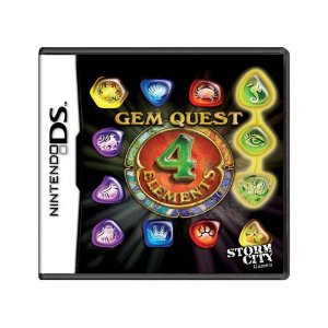 Jogo Gem Quest: 4 Elements - DS