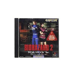 Jogo BioHazard 2 (Dual Shock Ver.) - PS1 (Japonês)