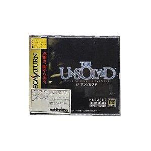 Jogo The Unsolved - Sega Saturn (Japonês)