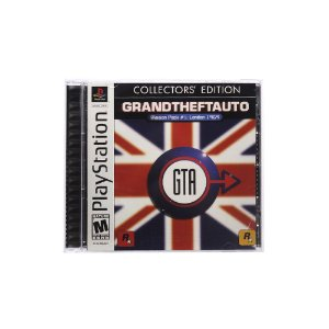 Jogo Grand Theft Auto: London 1969 (Collector's Edition) - PS1
