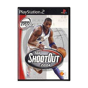 Jogo NBA ShootOut 2004 - PS2