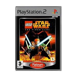 Jogo LEGO Star Wars: The Video Game - PS2 (Europeu)